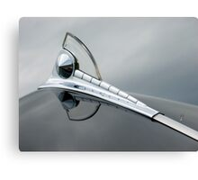 1950 FORD HOOD ORNAMENT Canvas Print