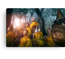 Valley of the Buddhas  Canvas Print
