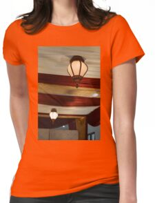 the lamp Womens Fitted T-Shirt