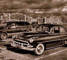 1952 chevy B&W Sepia by henuly1