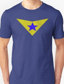 Distressed Booster Gold Logo Unisex T-Shirt