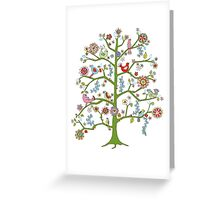 singing birds Greeting Card