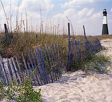 Tybee Island Lighthouse and Beach by StonePics