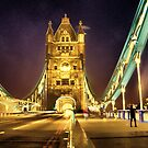 Tower Bridge at night  by LudaNayvelt