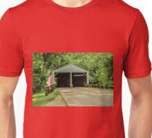 Ramp Creek Covered Bridge Unisex T-Shirt