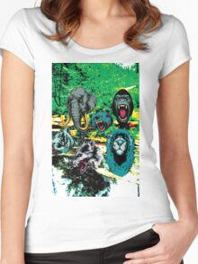 WildLife Women's Fitted Scoop T-Shirt