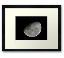 Country Moon Framed Print