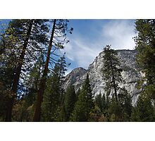 rock formations of Yosemite Photographic Print