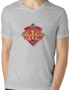 Nurse Practitioner Who Mens V-Neck T-Shirt