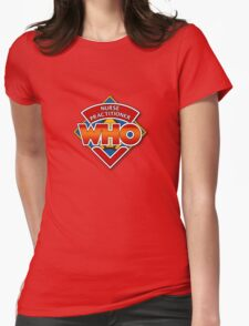 Nurse Practitioner Who Womens Fitted T-Shirt