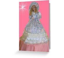 ¸.•*´♥`*•. Cute Doll ¸.•*´♥`*•. Greeting Card