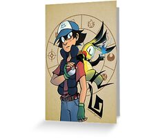 PokeFalls: Gotta Catch Em All Greeting Card
