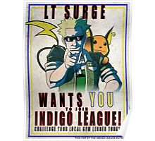 Lt. Surge Wants You! Poster