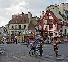 Dijon, France, Town Centre by TeaCee