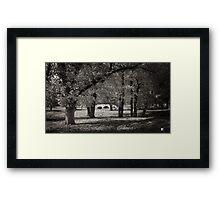 Fee's Bridge in Autumn Framed Print