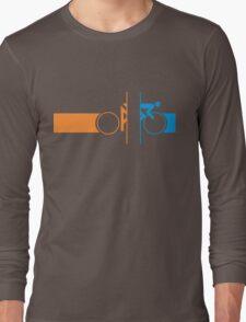 Bike Stripes Portal Long Sleeve T-Shirt