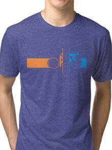 Bike Stripes Portal Tri-blend T-Shirt