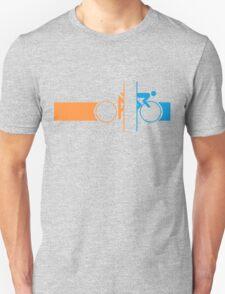 Bike Stripes Portal Unisex T-Shirt