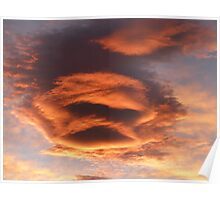 The Face of the Sunset Poster