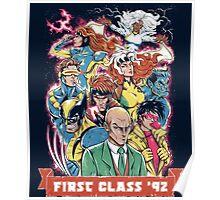 FIRST CLASS 92 Poster