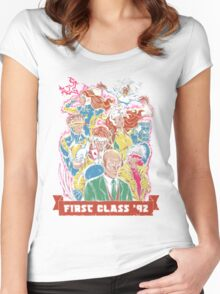 FIRST CLASS 92 Women's Fitted Scoop T-Shirt