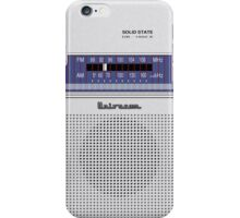 Transistor Radio - 70's Hobbyist iPhone Case/Skin