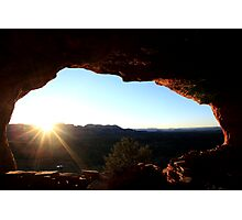 Sunrise at Thieves Den II Photographic Print