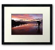 Photographers Reflection Framed Print
