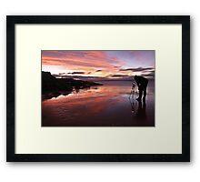 Photographers Reflection Framed Print