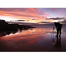 Photographers Reflection Photographic Print