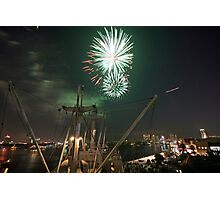USS Victory 4th Of July Photographic Print