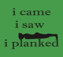 Planked, Planking Shirt