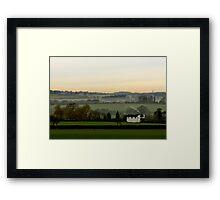Chicheley Hill  Buckinghamshire  UK Framed Print