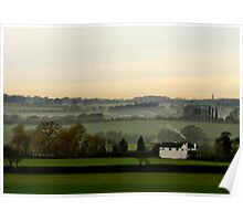 Chicheley Hill  Buckinghamshire  UK Poster