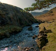 Towards Little Langdale by John Hare