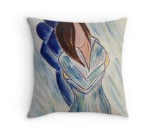 A Day in Blue.. SP 5-15-11 Throw Pillow