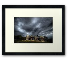 Chatting Happy Chappies Framed Print