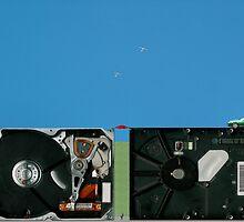 It looks like a long hard drive. by albutross