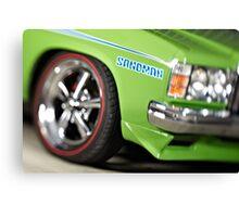 Green Holden Sandman Canvas Print