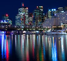 Darling Harbour Lights by Tony Walton