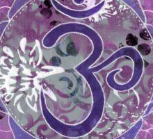 Seventh Chakra Mandala Sticker