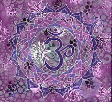 Seventh Chakra Mandala by LydiaEloff