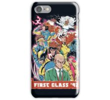 FIRST CLASS 92 iPhone Case/Skin