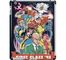FIRST CLASS 92 iPad Case/Skin
