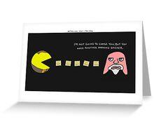 Better Call Saul + Pac-Man Greeting Card