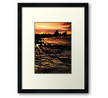 First Rays Framed Print
