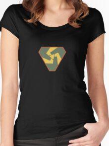 Triskelion Emblem Women's Fitted Scoop T-Shirt