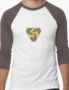 Triskelion Emblem Men's Baseball ¾ T-Shirt