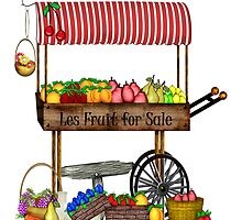 Les Fruit for Sale  by travel124