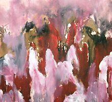 Rasberry Sorbet Mountains by Joe Bazerque